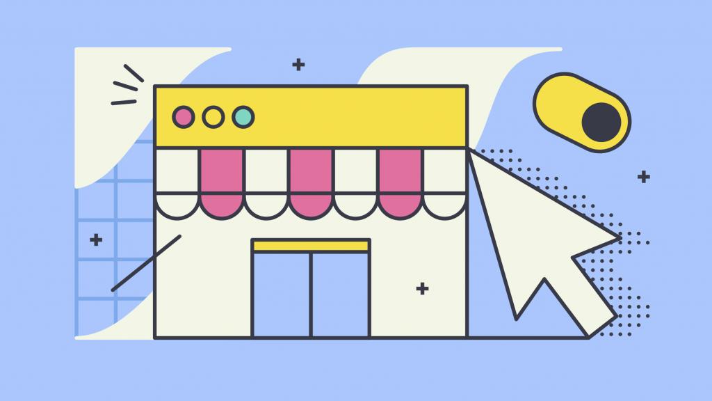 ecommerce store website